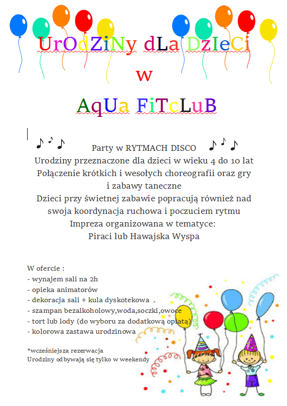 Urodziny AQUA