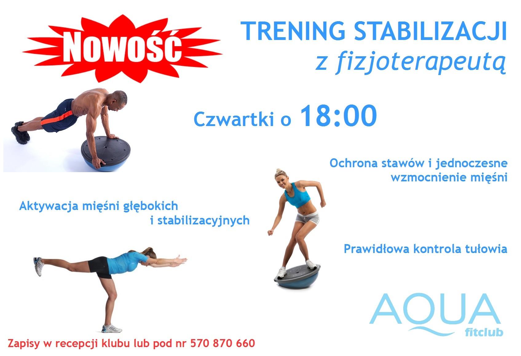 trening stabilizacji
